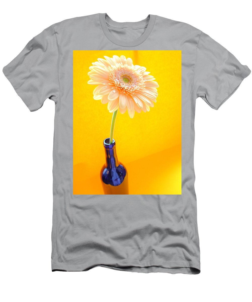 Gerbera Photographs Men's T-Shirt (Athletic Fit) featuring the photograph 1533-001 by Kimberlie Gerner