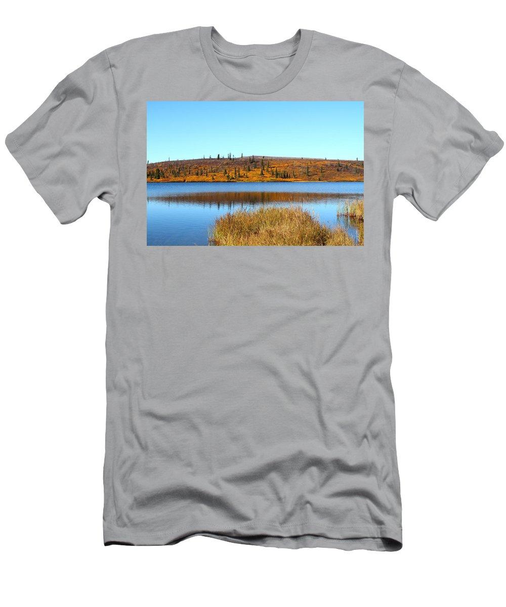 Doug Lloyd Men's T-Shirt (Athletic Fit) featuring the photograph Fall Colors by Doug Lloyd