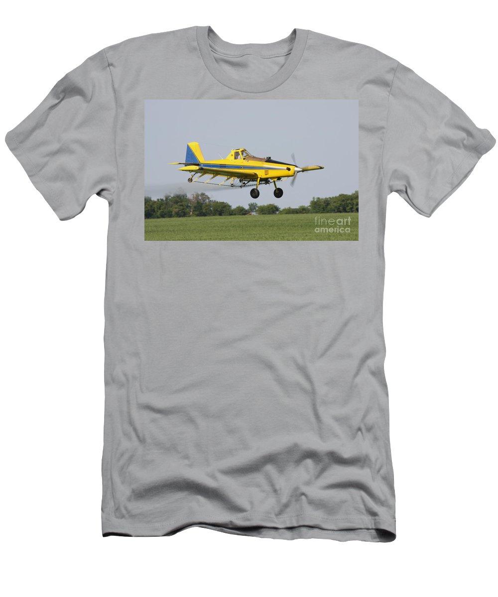 Plane Men's T-Shirt (Athletic Fit) featuring the photograph Plane by Lori Tordsen