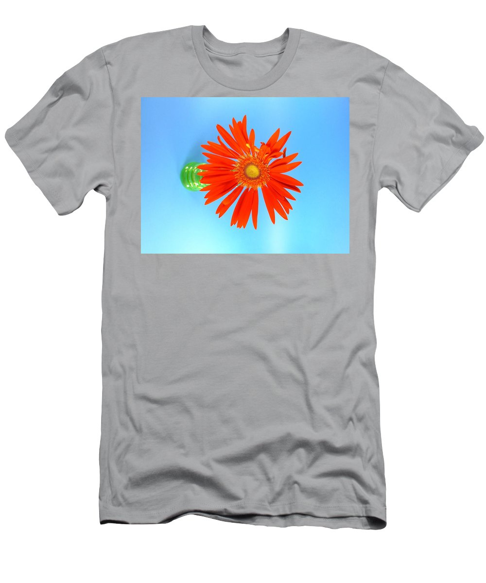 Gerbera Photographs Men's T-Shirt (Athletic Fit) featuring the photograph 2279c2 by Kimberlie Gerner