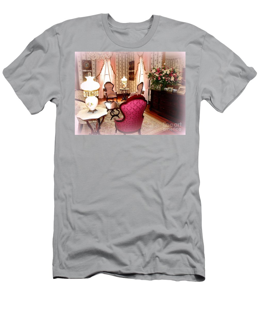 Victorian Era Men's T-Shirt (Athletic Fit) featuring the photograph A Glimpse Into Yesteryear by Kathy White