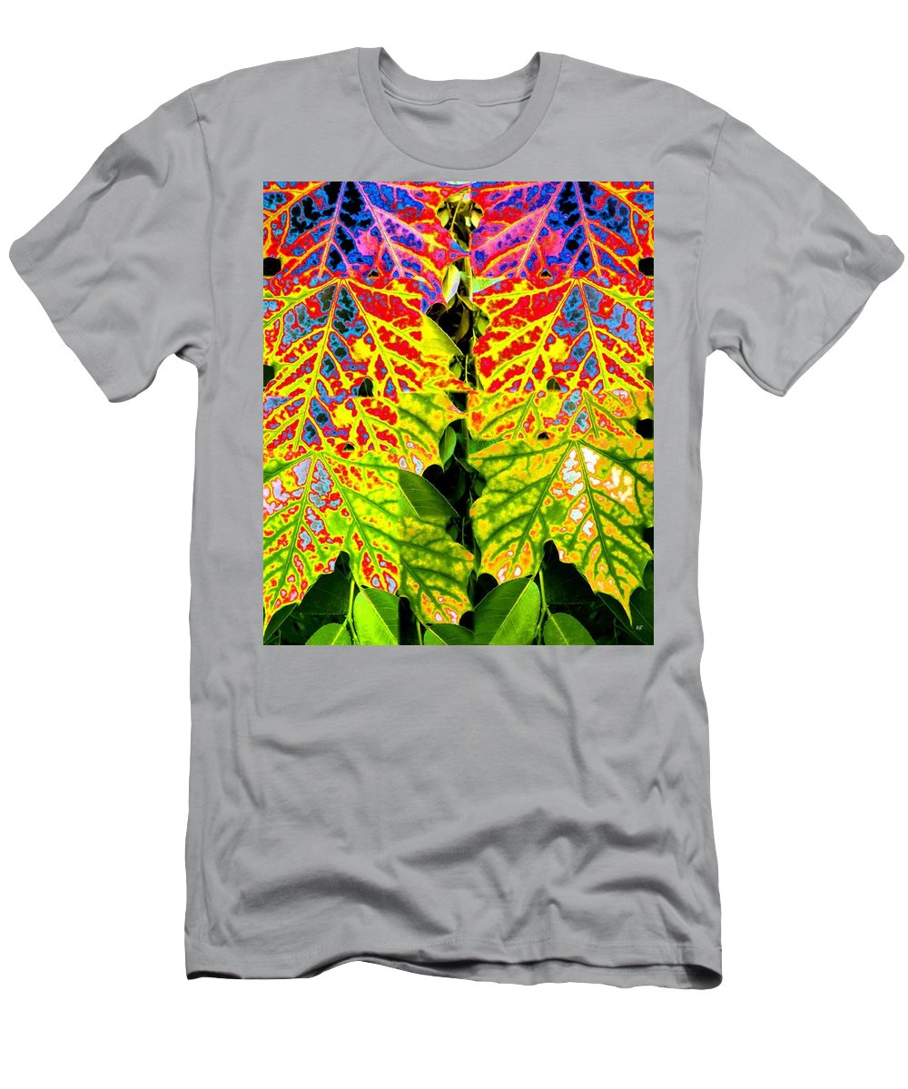 Abstract Fusion Men's T-Shirt (Athletic Fit) featuring the digital art Abstract Fusion 16 by Will Borden