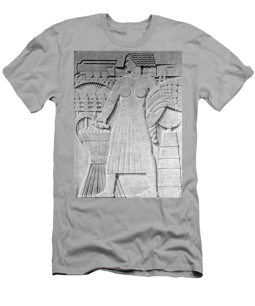 Art Deco Men's T-Shirt (Athletic Fit) featuring the photograph Art Deco 16 by Andrew Fare