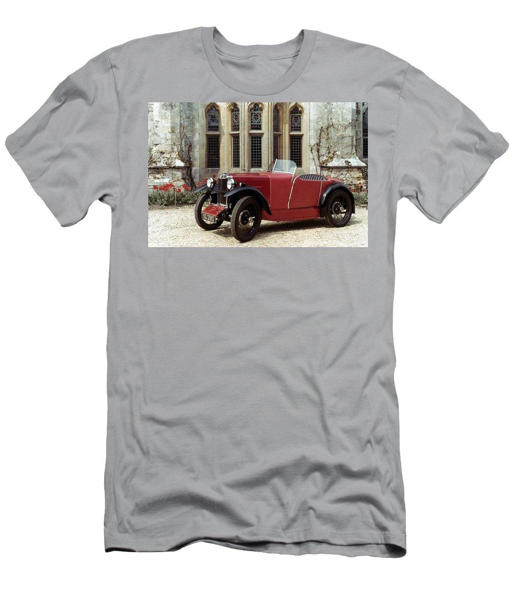 1930 Men's T-Shirt (Athletic Fit) featuring the photograph Auto: M.g. Midget by Granger