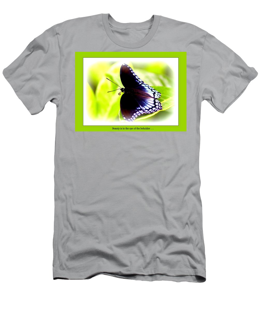 Beauty Men's T-Shirt (Athletic Fit) featuring the photograph Beauty by Travis Truelove