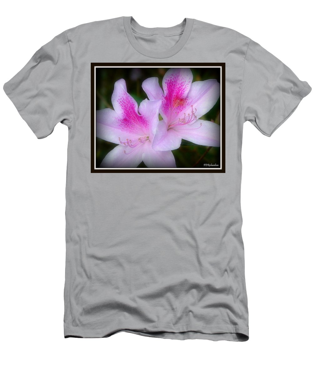 Twin Men's T-Shirt (Athletic Fit) featuring the photograph Binary by Priscilla Richardson