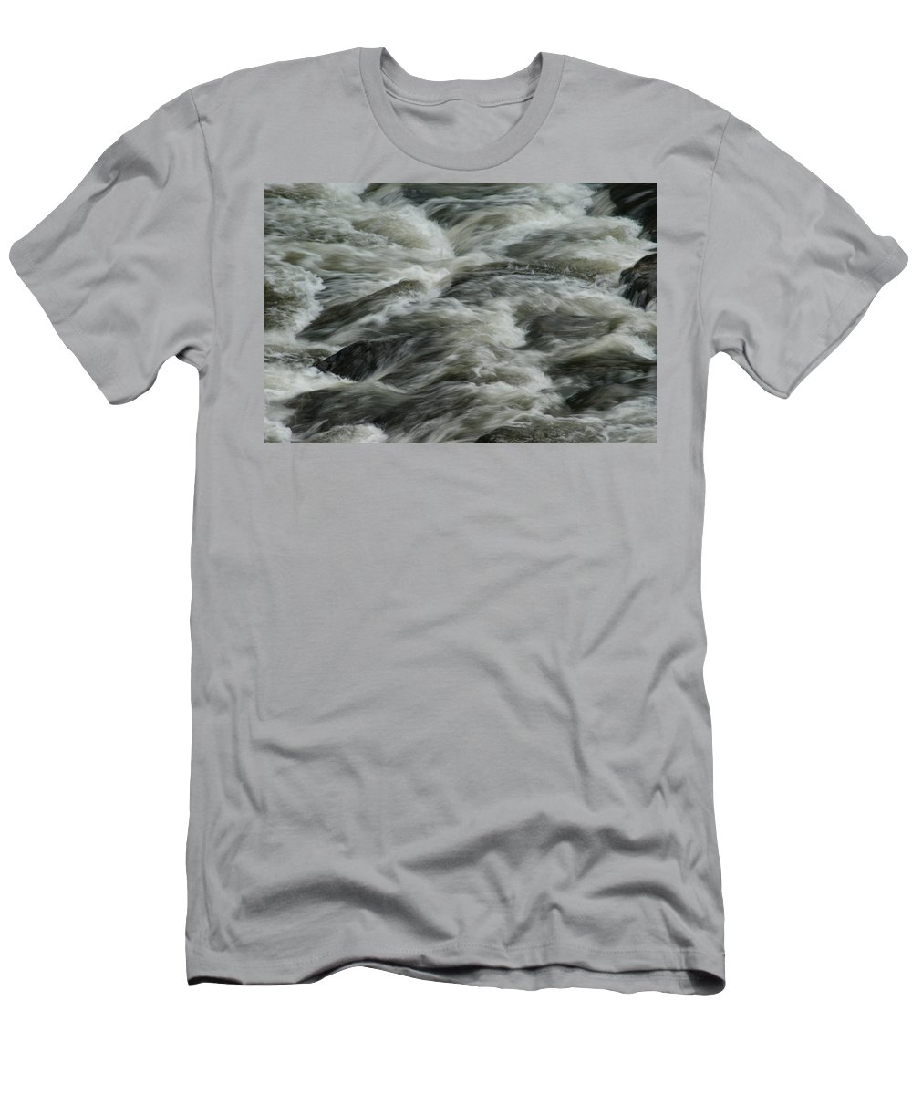 River Men's T-Shirt (Athletic Fit) featuring the photograph Black Water by Brian Kerls