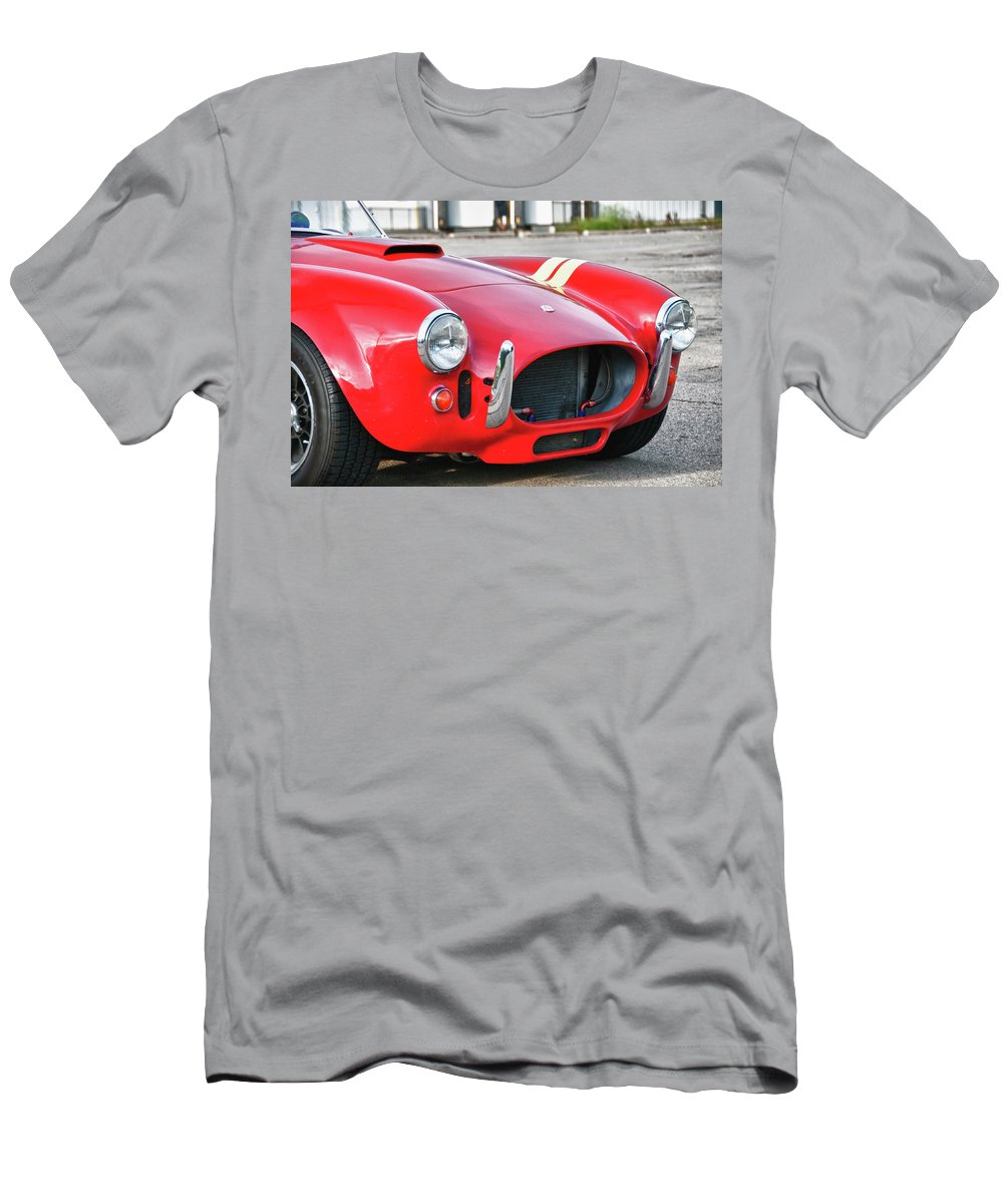 427 Cobra Men's T-Shirt (Athletic Fit) featuring the photograph Cobra 427 by Guy Whiteley