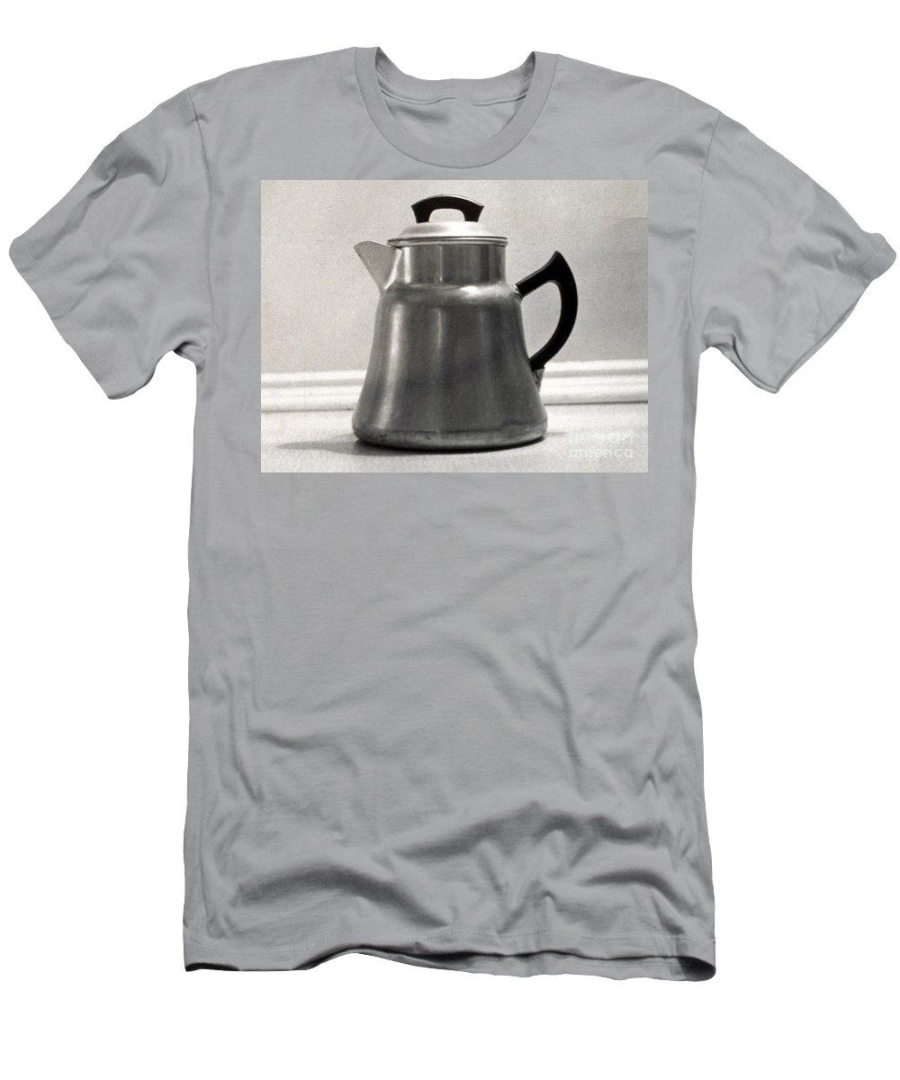 1935 Men's T-Shirt (Athletic Fit) featuring the photograph Coffee Pot, 1935 by Granger