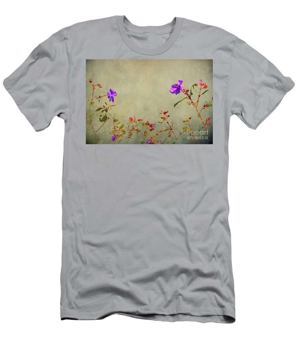 Aged Men's T-Shirt (Athletic Fit) featuring the photograph Encore by Traci Cottingham
