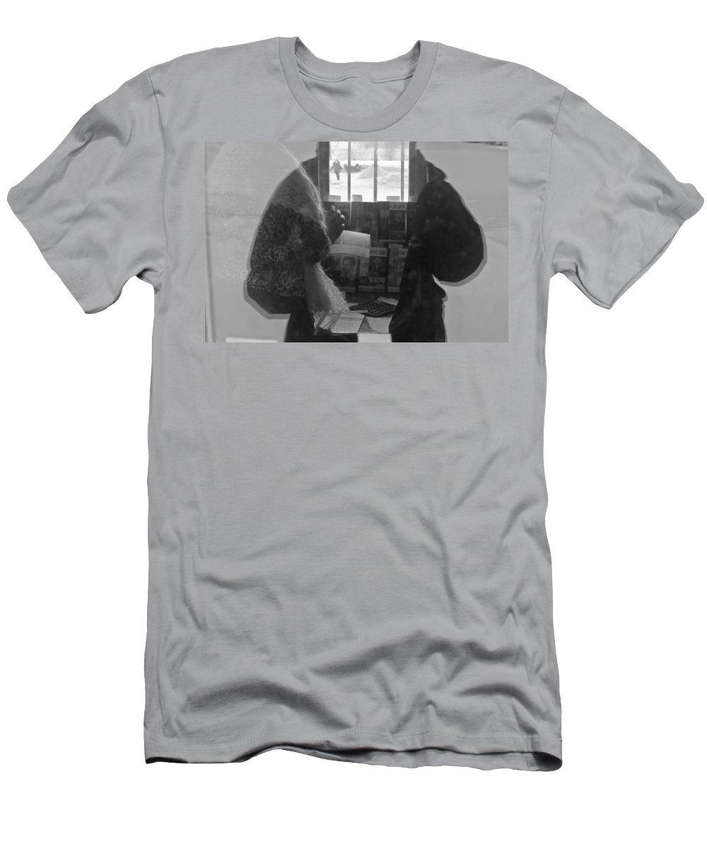 Commercial Buildings Men's T-Shirt (Athletic Fit) featuring the photograph Fine Impulses Of The Soul by Michael Goyberg