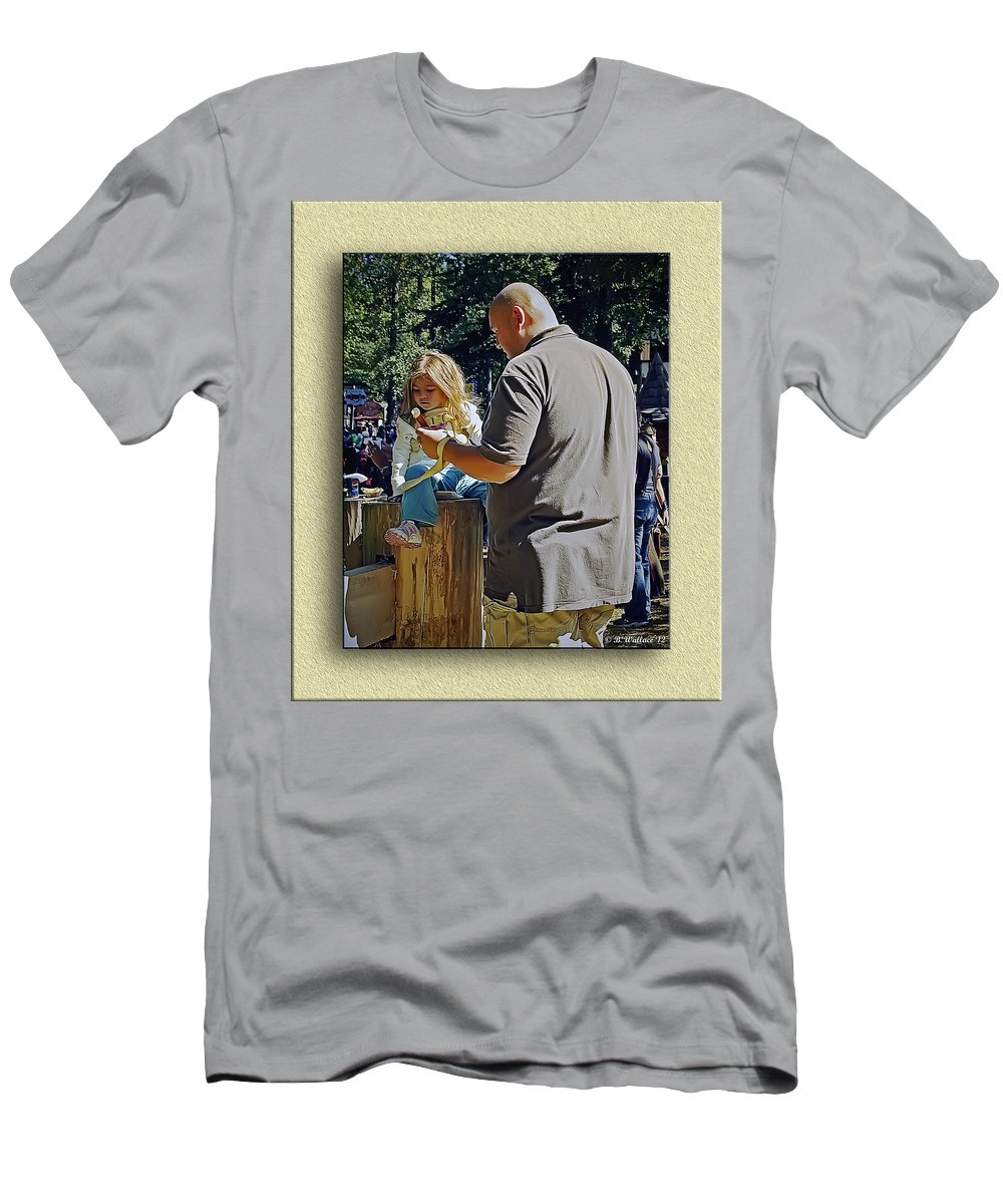 2d Men's T-Shirt (Athletic Fit) featuring the photograph Giant Tenderness by Brian Wallace