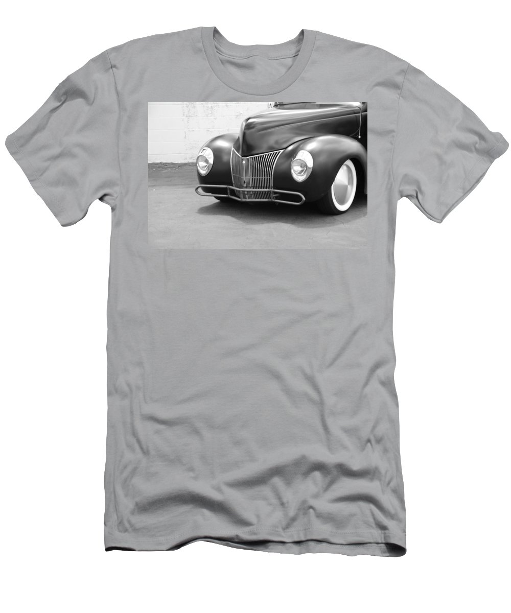Hot Rod Men's T-Shirt (Athletic Fit) featuring the photograph Hot Rod Front End by Rob Hans