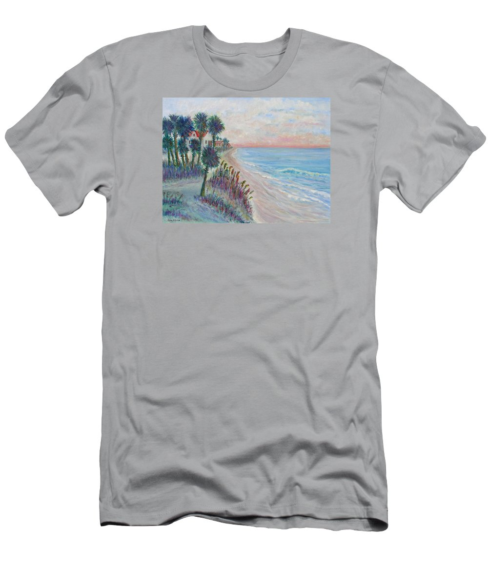 Seascape T-Shirt featuring the painting Isle of Palms by Ben Kiger
