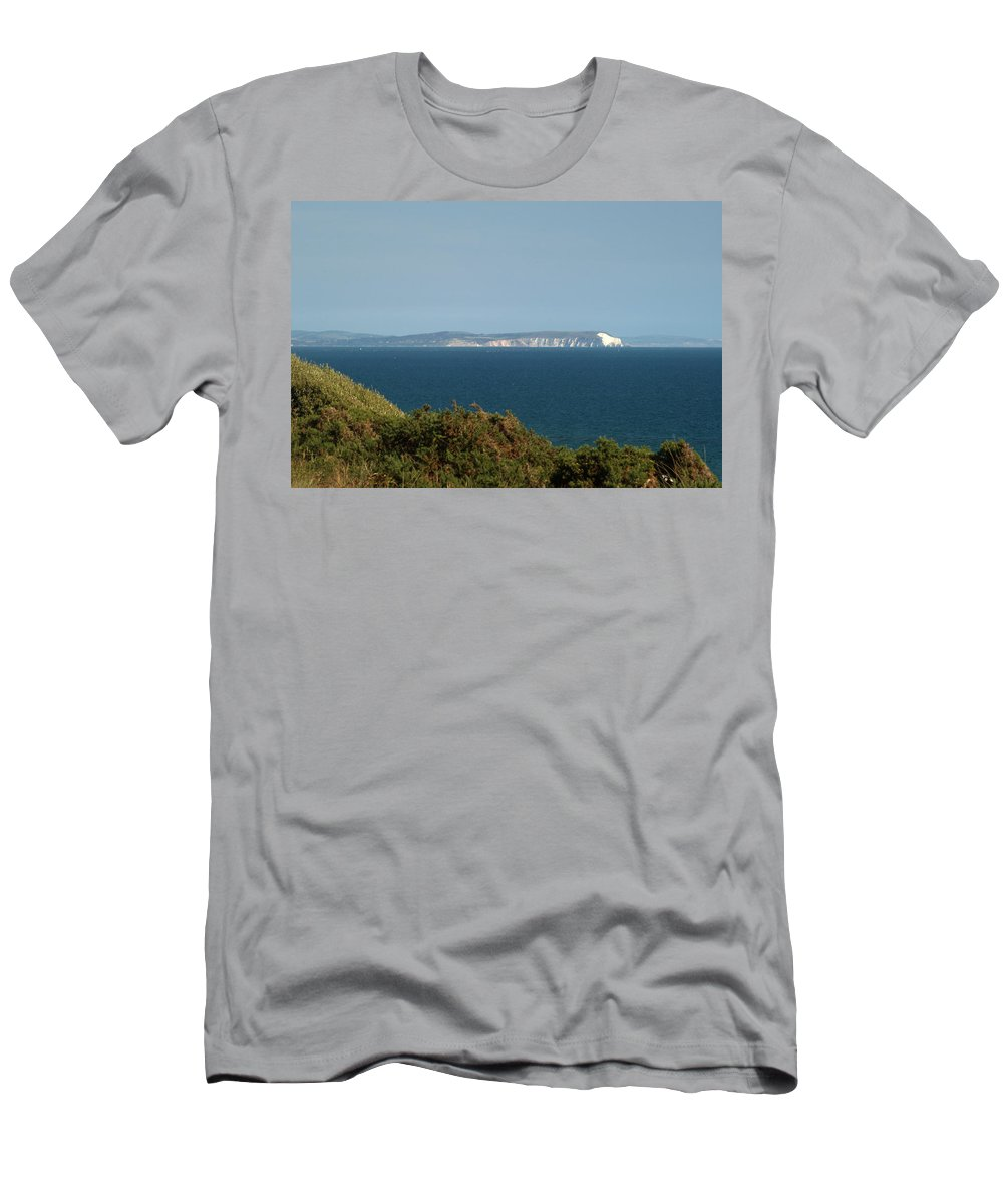 Isle Of Wight Men's T-Shirt (Athletic Fit) featuring the photograph Isle Of Wight by Chris Day
