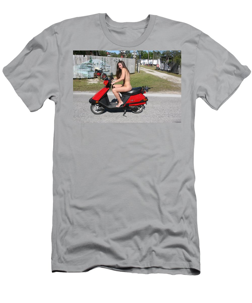 Everglades City Fl Professional Photographer Lucky Cole Men's T-Shirt (Athletic Fit) featuring the photograph 024 by Lucky Cole