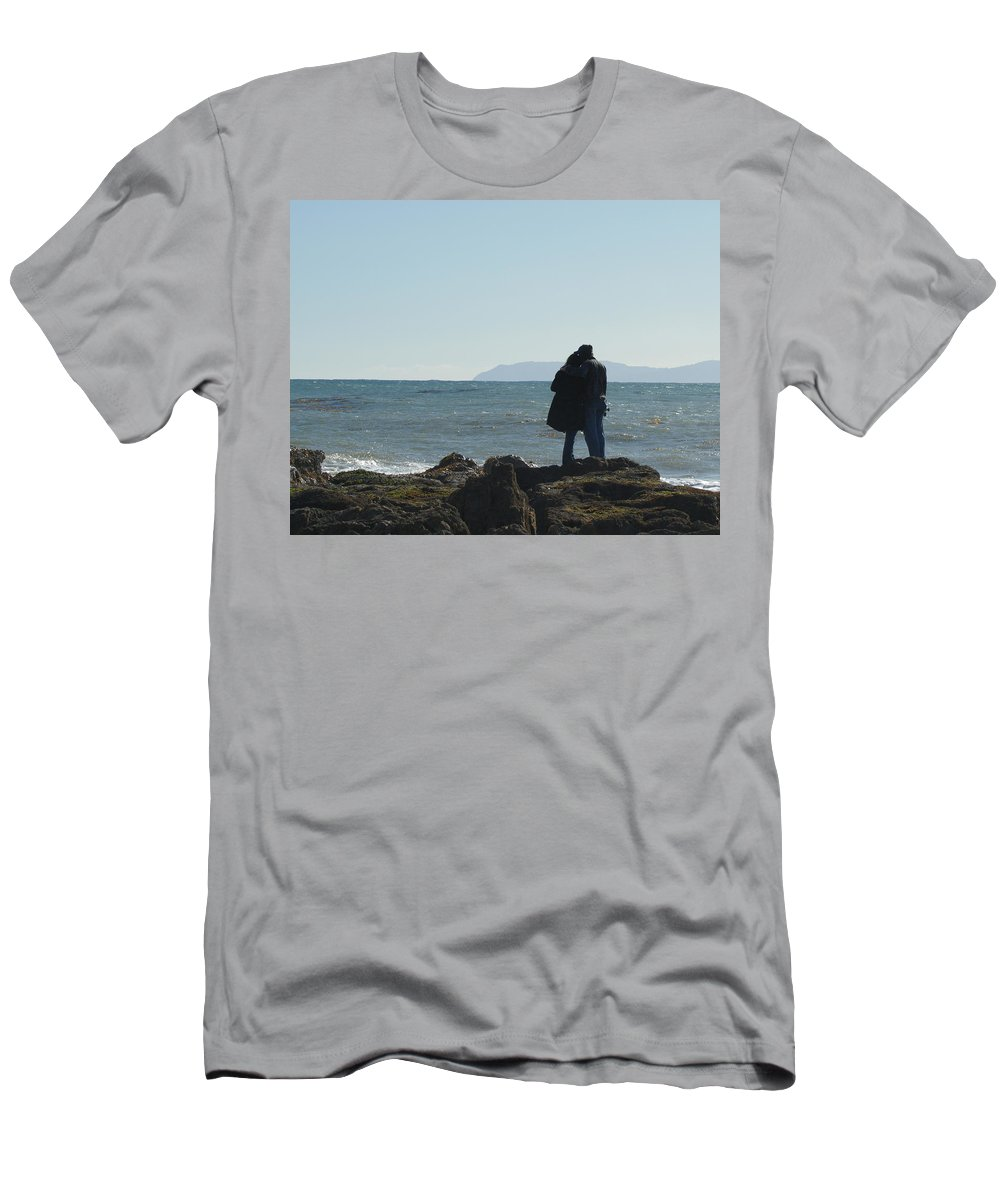 Making Plans Men's T-Shirt (Athletic Fit) featuring the photograph Making Plans Original Photo by Ernie Echols
