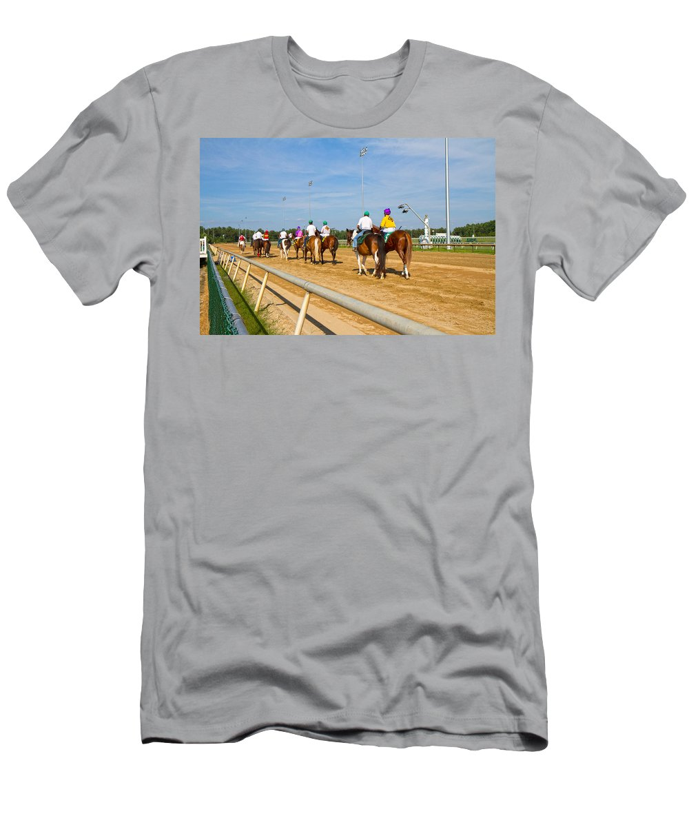 Post Men's T-Shirt (Athletic Fit) featuring the photograph Moments Before by Betsy Knapp