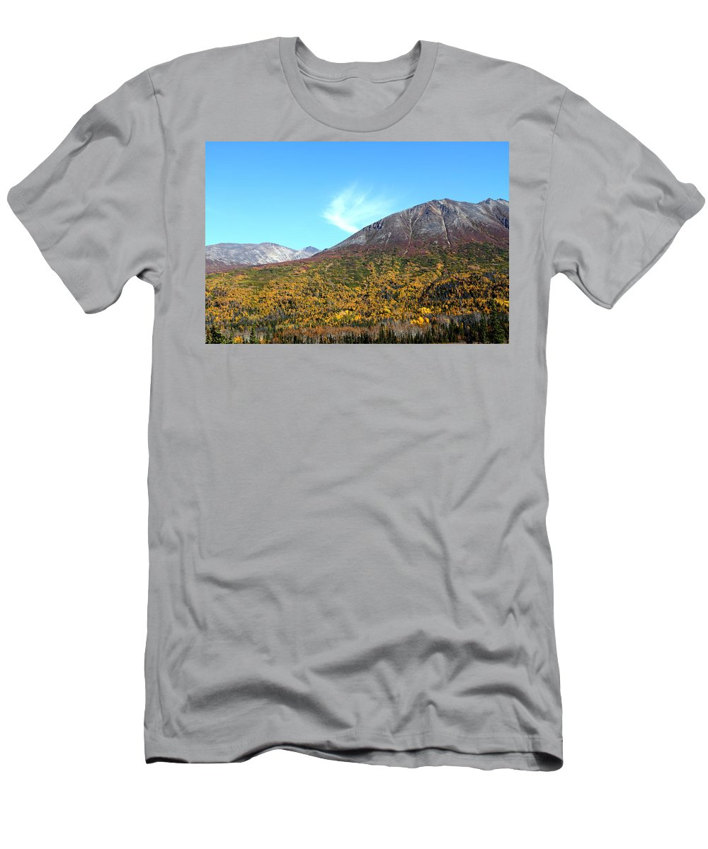 Doug Lloyd Men's T-Shirt (Athletic Fit) featuring the photograph Mountain Colors by Doug Lloyd