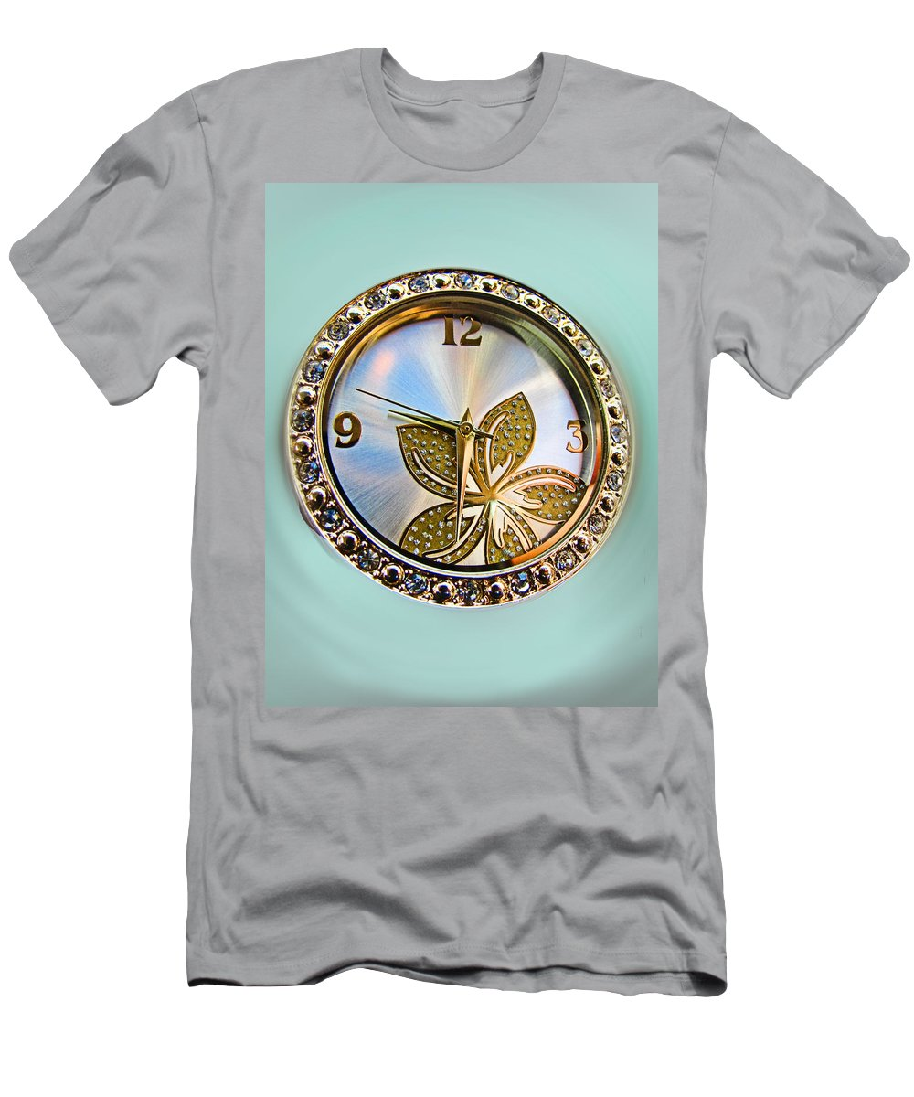 Men's T-Shirt (Athletic Fit) featuring the photograph Nine Thirty Two I by Debbie Portwood