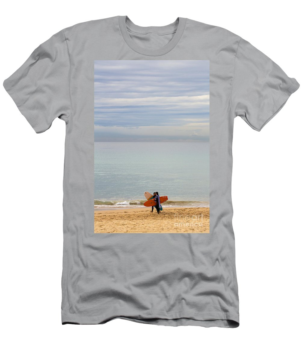 Pastel T-Shirt featuring the photograph Pastel Manly morning by Sheila Smart Fine Art Photography