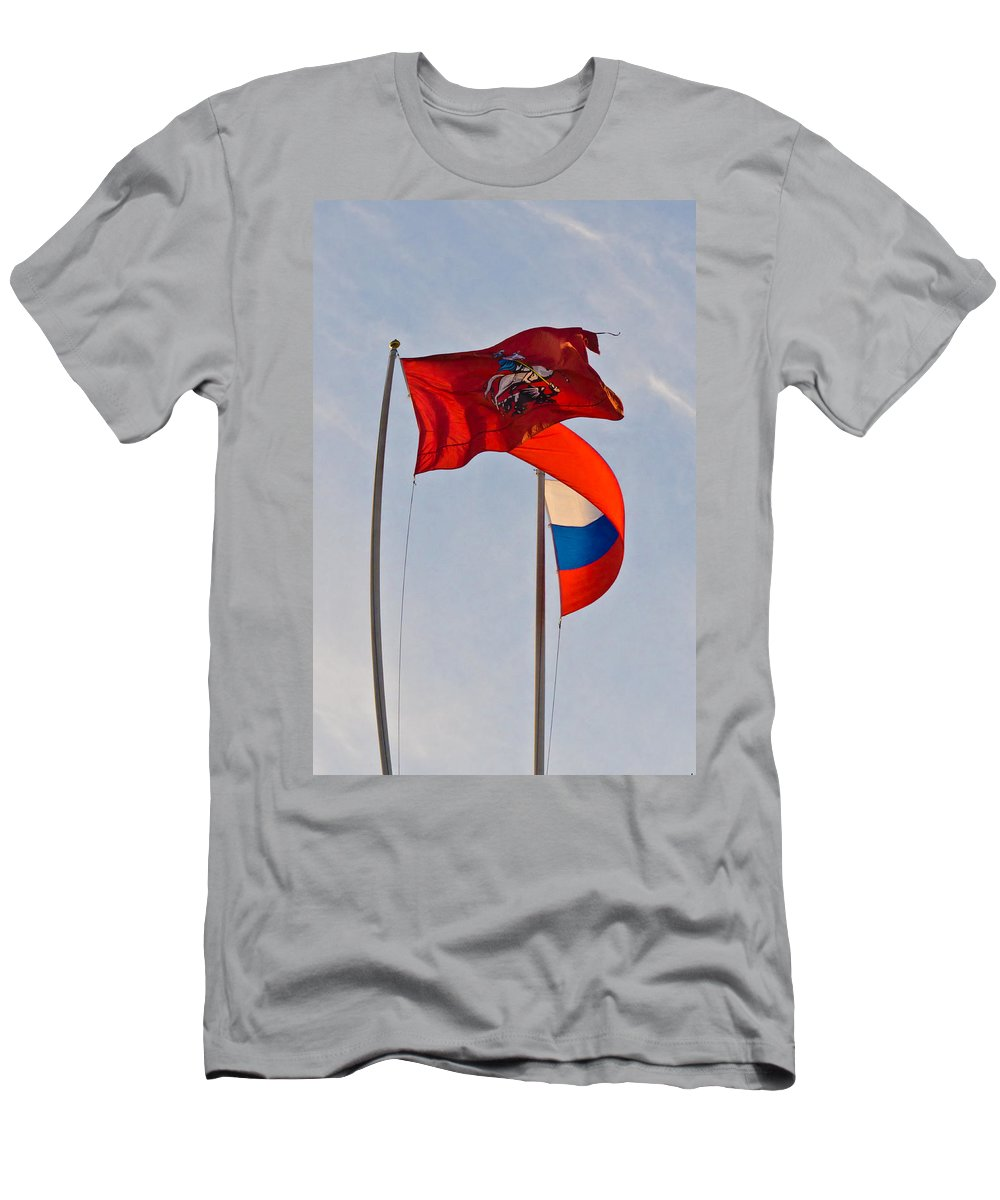 Europe Men's T-Shirt (Athletic Fit) featuring the photograph Sails Of Hope by Michael Goyberg