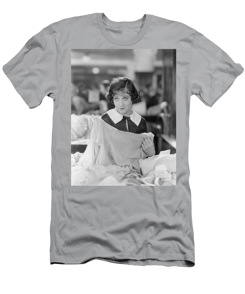 -women Single Figures- Men's T-Shirt (Athletic Fit) featuring the photograph Sally Oneil: Becky, 1927 by Granger