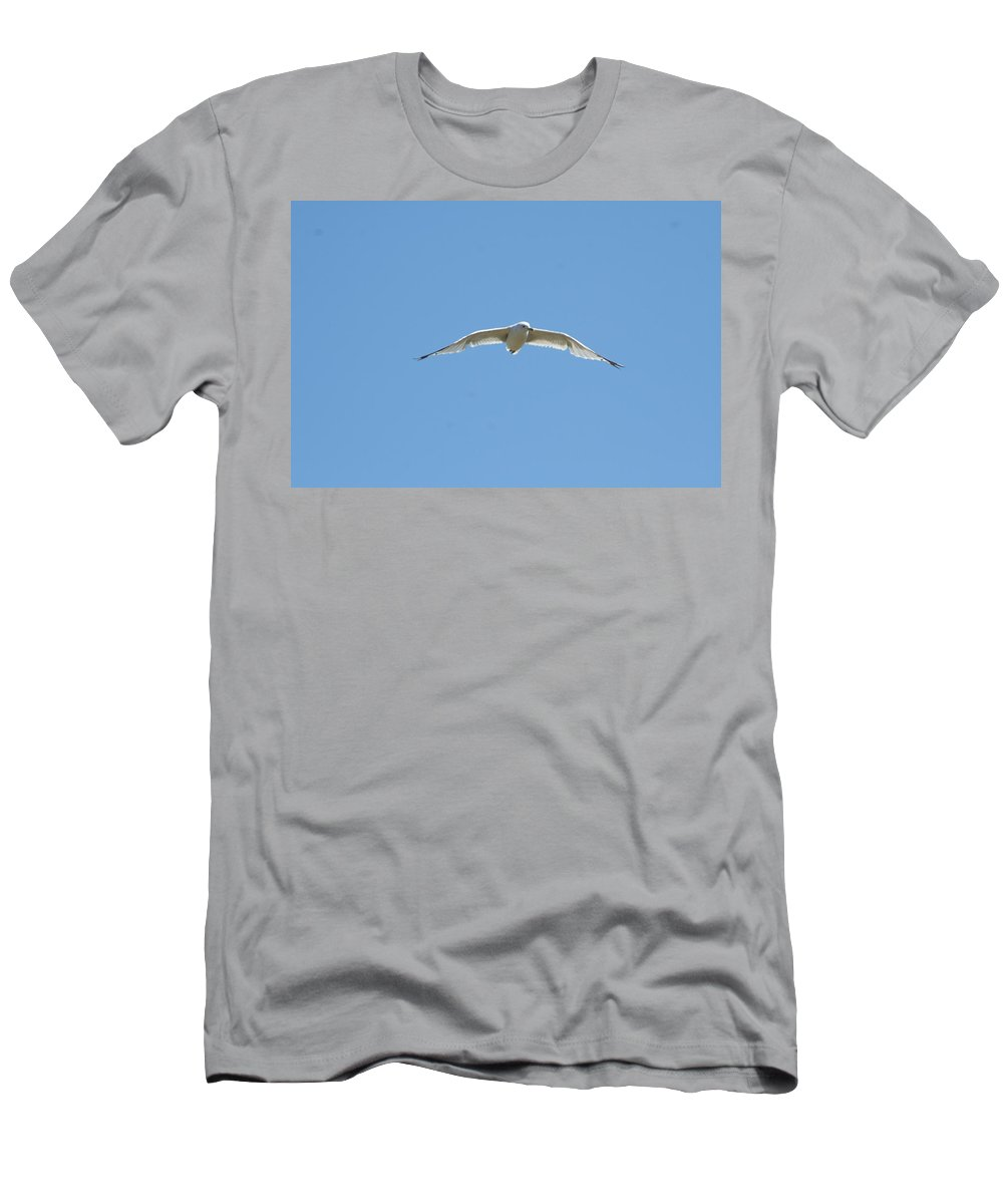 Photography Men's T-Shirt (Athletic Fit) featuring the photograph Searching by Barbara S Nickerson
