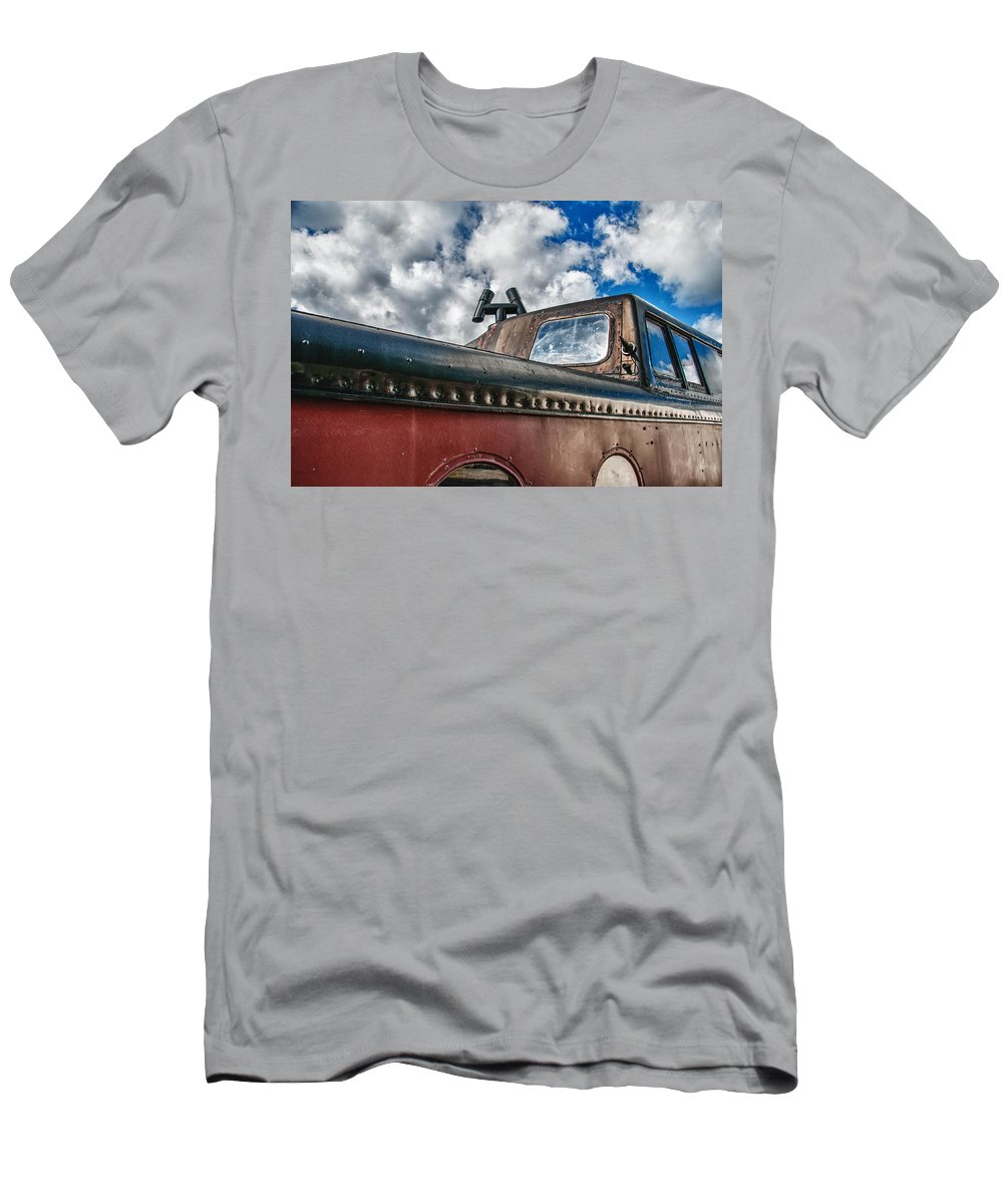 Guy Whiteley Photography Men's T-Shirt (Athletic Fit) featuring the photograph Skylight by Guy Whiteley