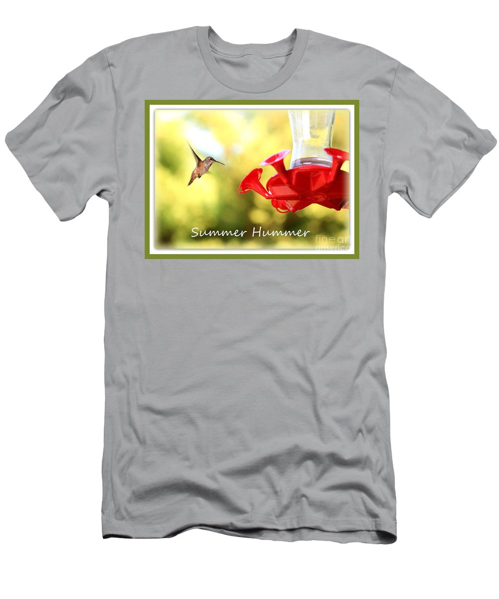 Summer Men's T-Shirt (Athletic Fit) featuring the photograph Summer Hummer Poster by Carol Groenen