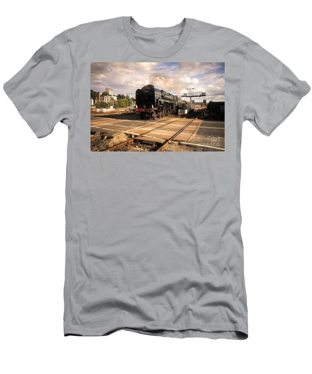 Duke Of Gloucester Men's T-Shirt (Athletic Fit) featuring the photograph The Duke And The Tornado by Rob Hawkins