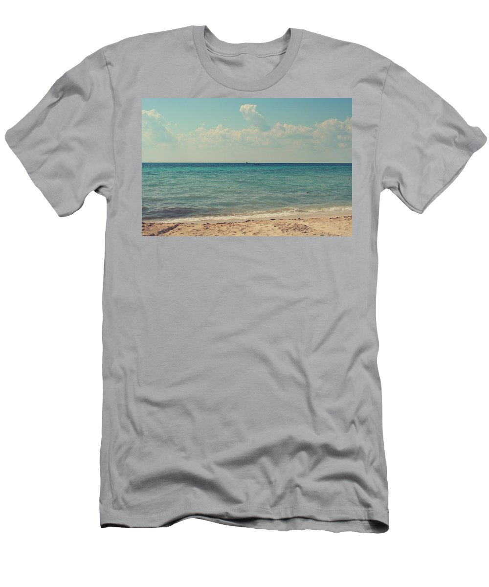 Cozumel Men's T-Shirt (Athletic Fit) featuring the photograph Tranquil by Laurie Search