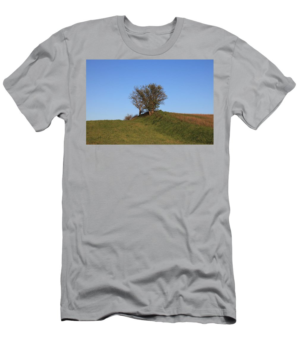 Tree Men's T-Shirt (Athletic Fit) featuring the photograph Tree In The Country by Francesco Scali