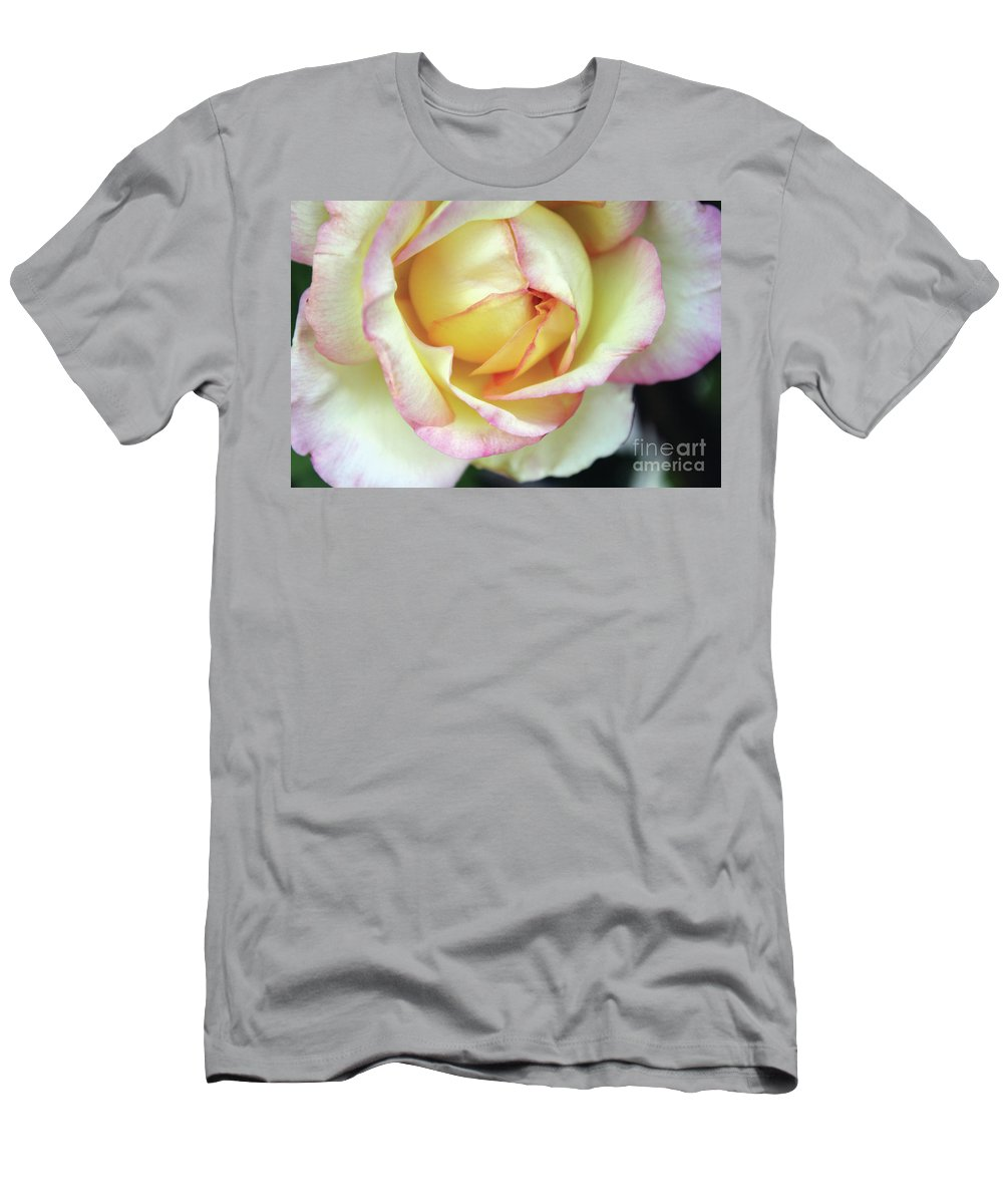 Flora Men's T-Shirt (Athletic Fit) featuring the photograph Virgin Beauty by Alycia Christine
