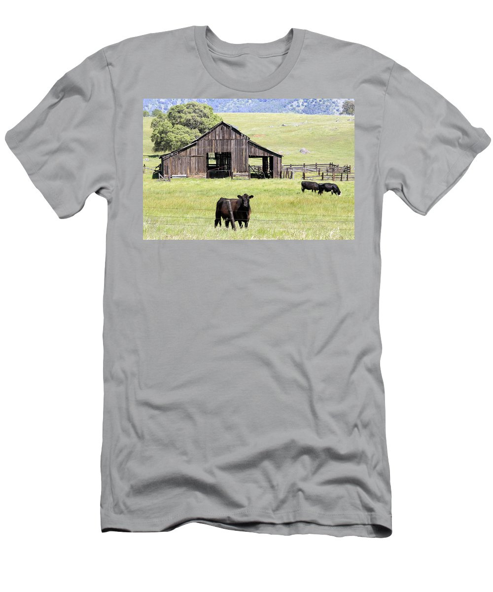 Welcome Men's T-Shirt (Athletic Fit) featuring the photograph Welcome by Wes and Dotty Weber