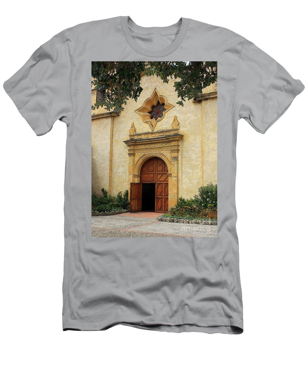 Welcoming Men's T-Shirt (Athletic Fit) featuring the photograph You Are Welcome Here by Carol Groenen