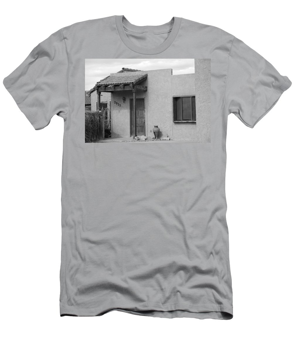 Architecture Men's T-Shirt (Athletic Fit) featuring the photograph Adobe House by Rob Hans