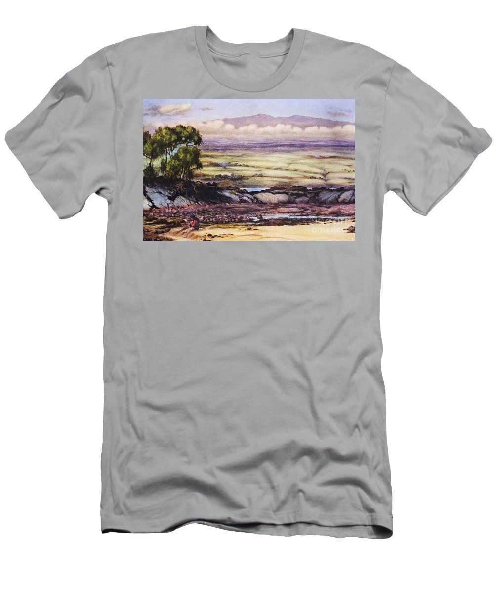1929 Men's T-Shirt (Athletic Fit) featuring the painting Helen Dranga Art by Hawaiian Legacy Archive - Printscapes
