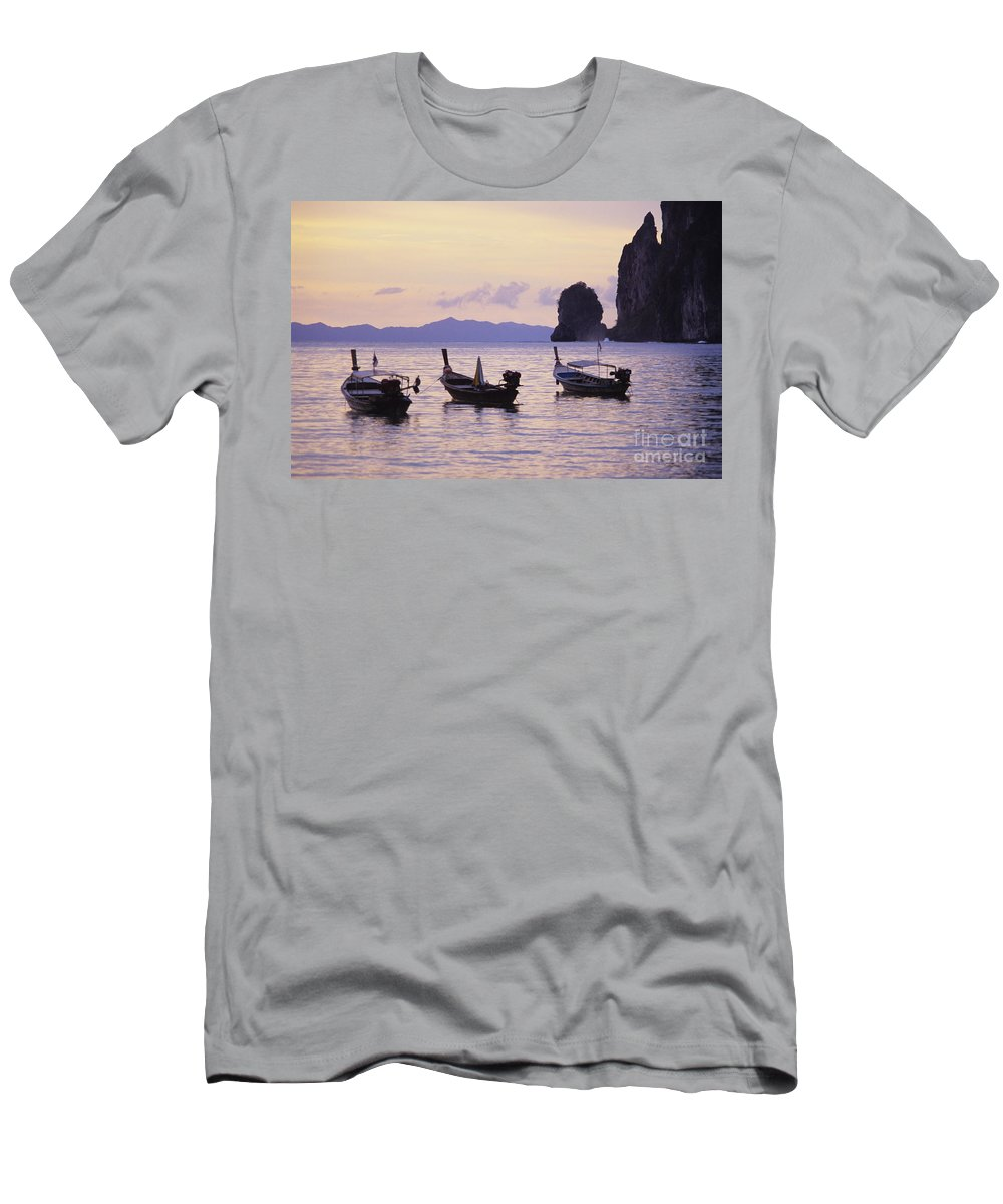 Beautiful Men's T-Shirt (Athletic Fit) featuring the photograph Koh Phi Phi by Bill Brennan - Printscapes