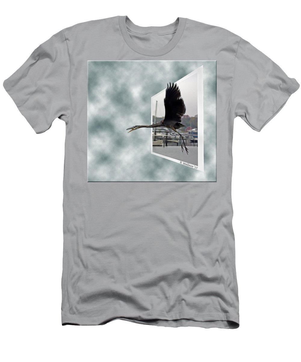 2d Men's T-Shirt (Athletic Fit) featuring the photograph No Fly Zone by Brian Wallace