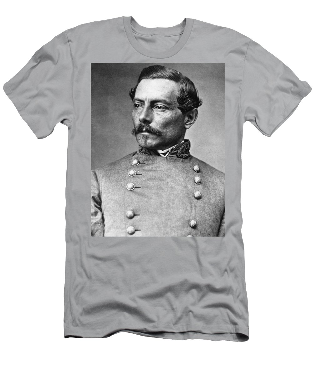 1865 Men's T-Shirt (Athletic Fit) featuring the photograph Pierre G.t. De Beauregard by Granger