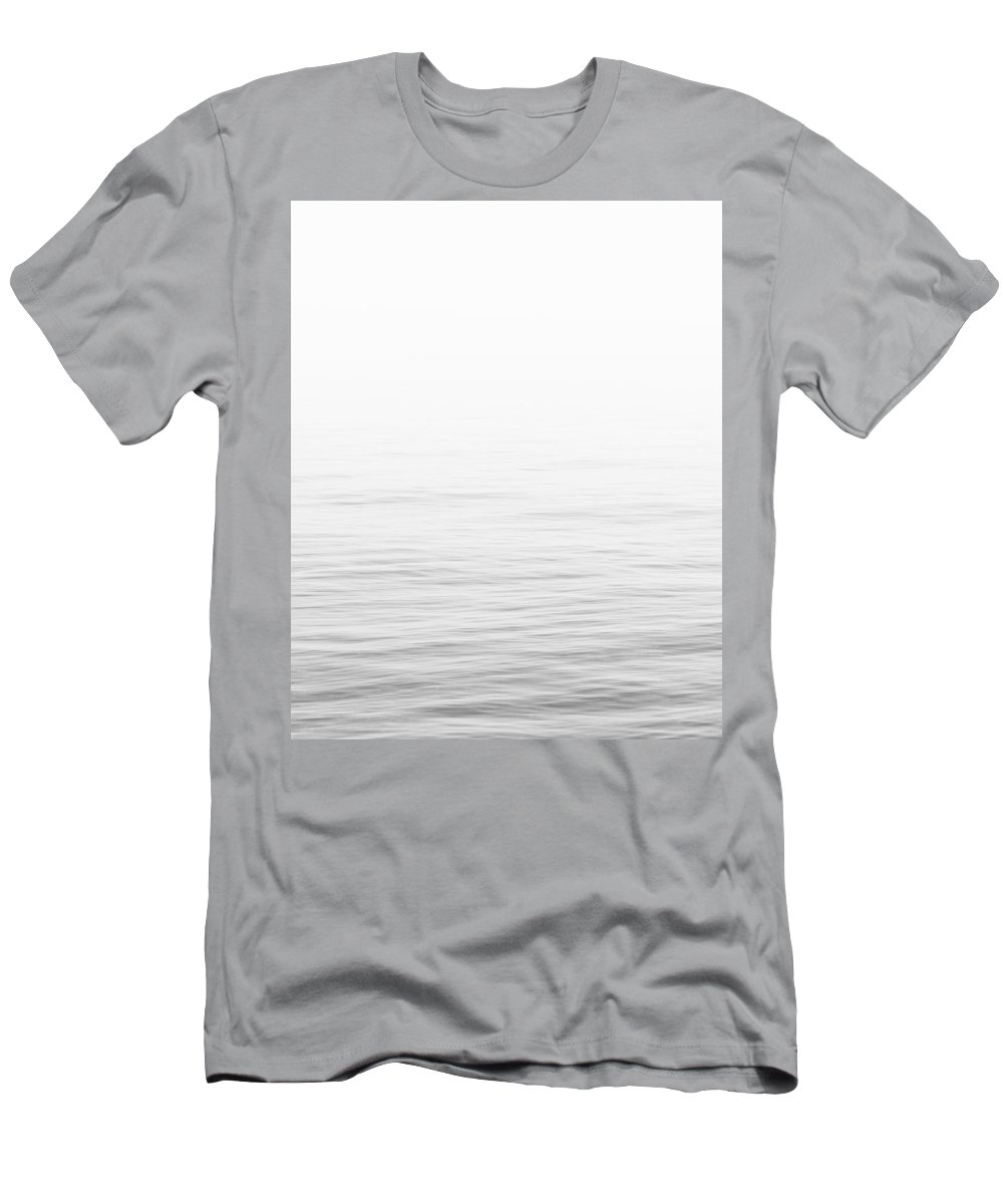 Minimal Men's T-Shirt (Athletic Fit) featuring the photograph Sea Ocean by Julia Emelianteva