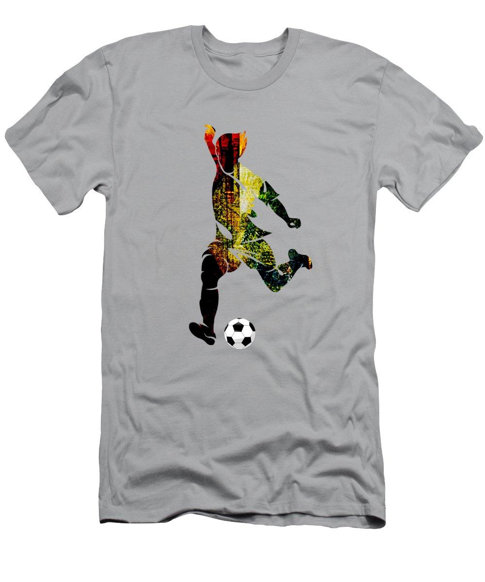 Soccer Slim Fit T-Shirts