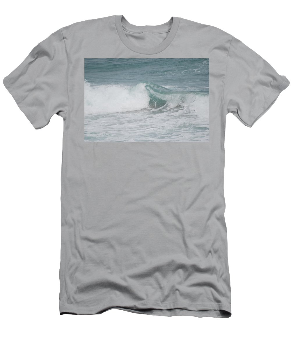 White Men's T-Shirt (Athletic Fit) featuring the photograph Splash by Rob Hans