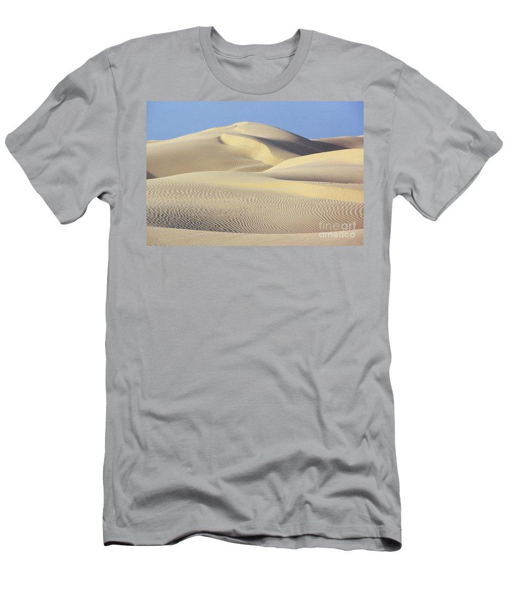 Asian Art Men's T-Shirt (Athletic Fit) featuring the photograph Thar Desert Dunes by Gloria & Richard Maschmeyer - Printscapes
