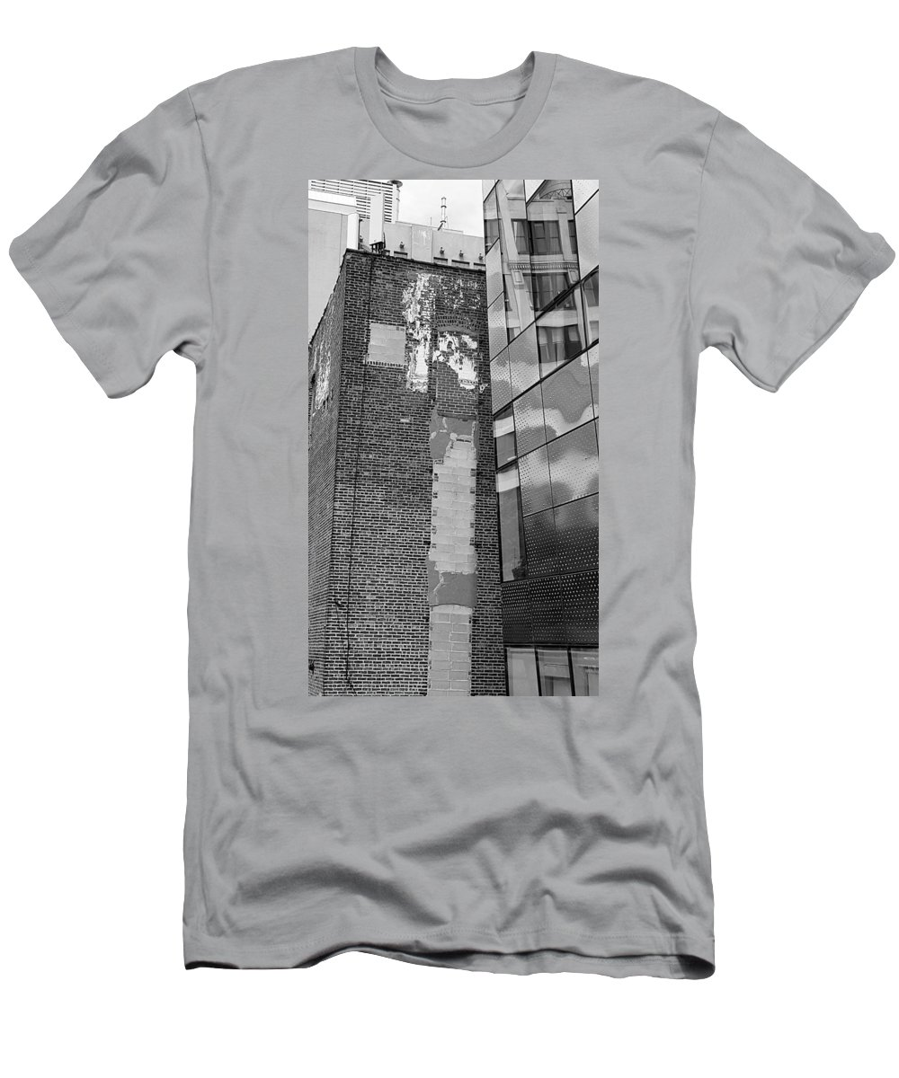 The High Line Men's T-Shirt (Athletic Fit) featuring the photograph The High Line 153 by Rob Hans