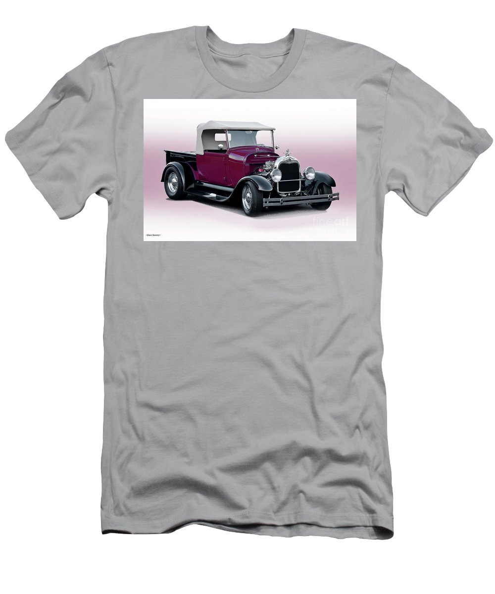 Auto Men's T-Shirt (Athletic Fit) featuring the photograph 1928 Ford Roadster Pickup I by Dave Koontz