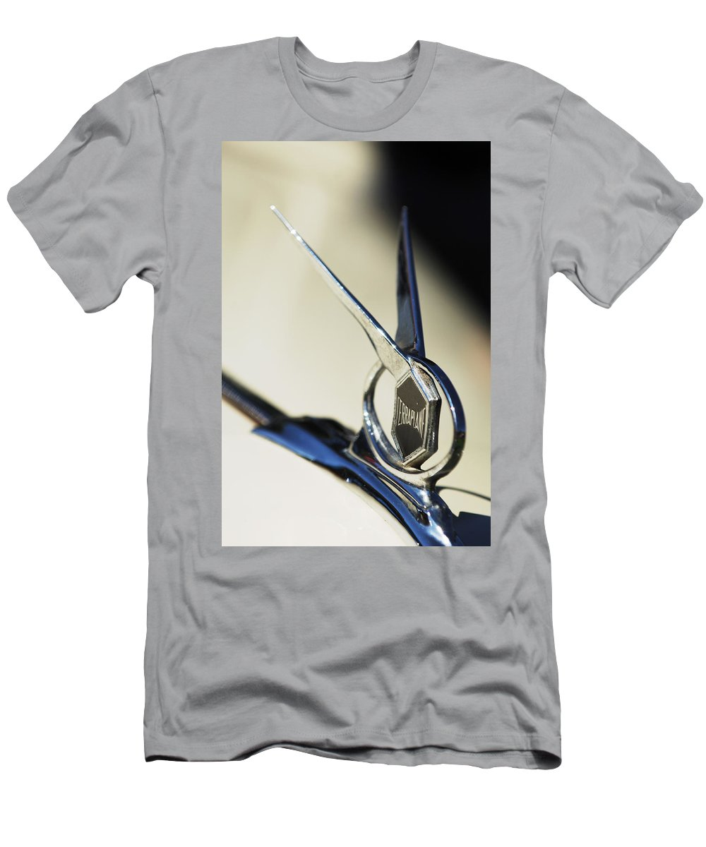 Car Men's T-Shirt (Athletic Fit) featuring the photograph 1934 Terraplane Coupe by Jill Reger