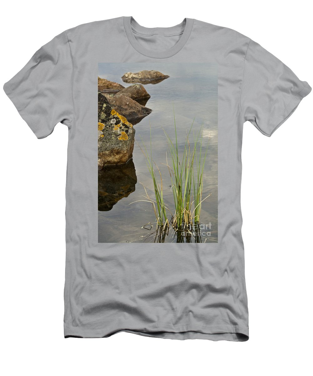 Heiko Men's T-Shirt (Athletic Fit) featuring the photograph Rockery by Heiko Koehrer-Wagner