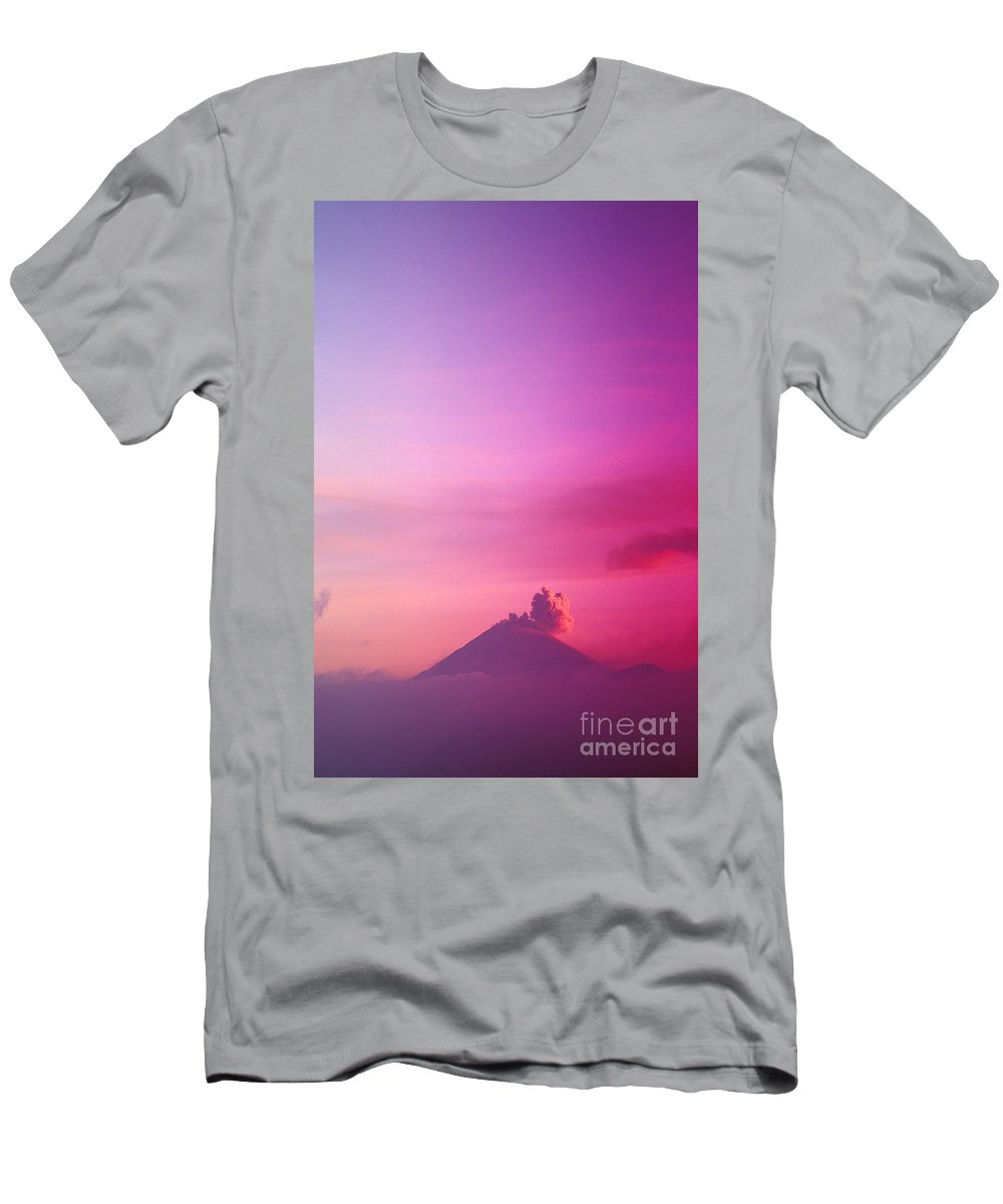 Active Men's T-Shirt (Athletic Fit) featuring the photograph Bromo Tengger Semeru by Gloria & Richard Maschmeyer - Printscapes
